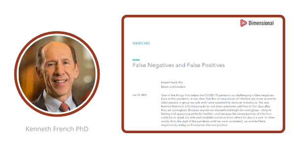 Kenneth French False Negatives and False Positives